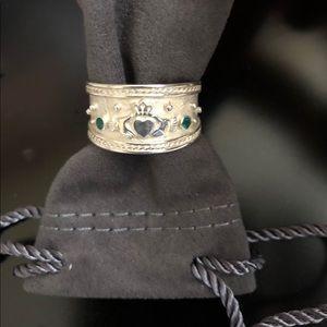 Sterling Claddagh Ring. Ireland 🇮🇪